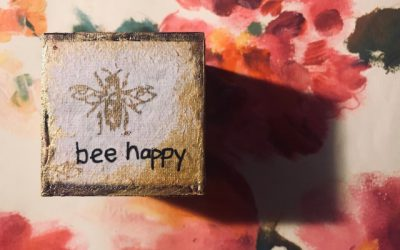 Bee Cubes by Judy Wood