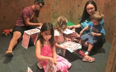 Artful Play! Try building a House of Cards