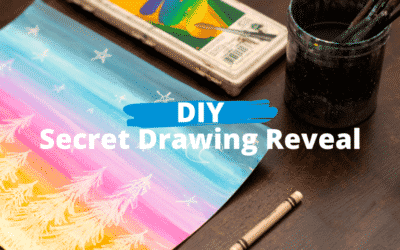 At-home: Secret Drawing Reveal