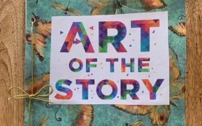 Art of the Story coloring book from Cheryl Tall