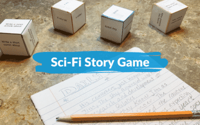 Roll dice & write a sci-fi story – updated
