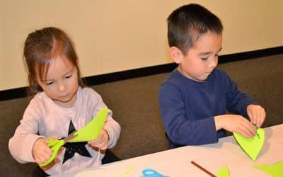 Skill Builders: Learning to use scissors